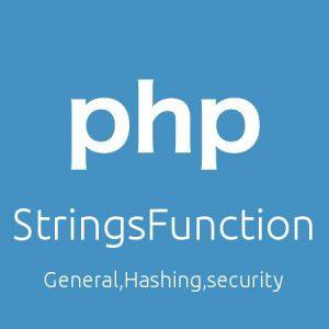 رشته ها در PHP