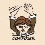 composer یک ابزار رابط خط فرمان (command line interface) برای مدیریت و نصب پروژه های PHP می باشد. بوسیله آن می توان روی پروژه خود پکیج هایی (پروژه ها یا کتابخانه ها) را نصب کنید یا بالعکس پروژه خود را قابل نصب بر روی پروژه های دیگر کنید.