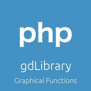 کار با gdLibrary در php